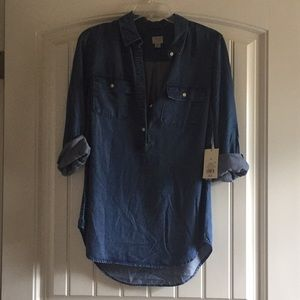 A New Day denim style tunic